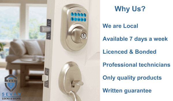 Seattle Residential locksmith services.