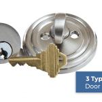 3 Types of Door Locks