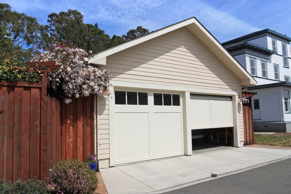 preventing garage door breakins