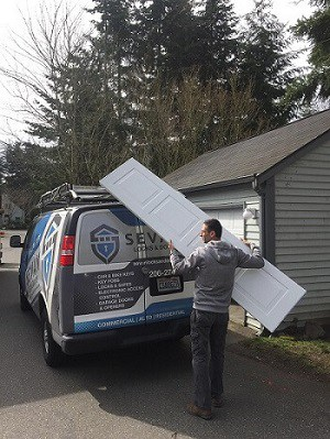garage door replacement in Seattle