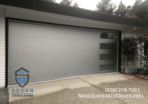 Modern Tech garage door